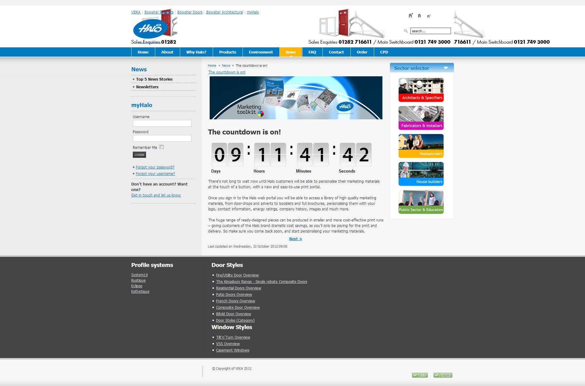Halo Marketing Portal #1