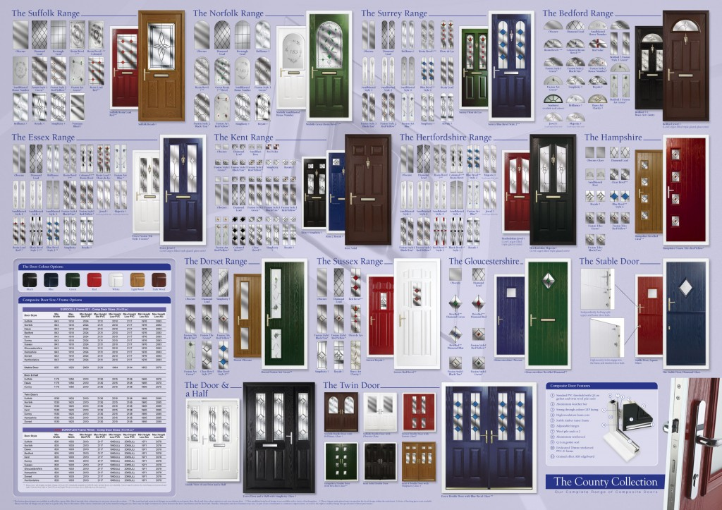 Phoenix Door Panels - CompDoor Wall Chart Feb 13