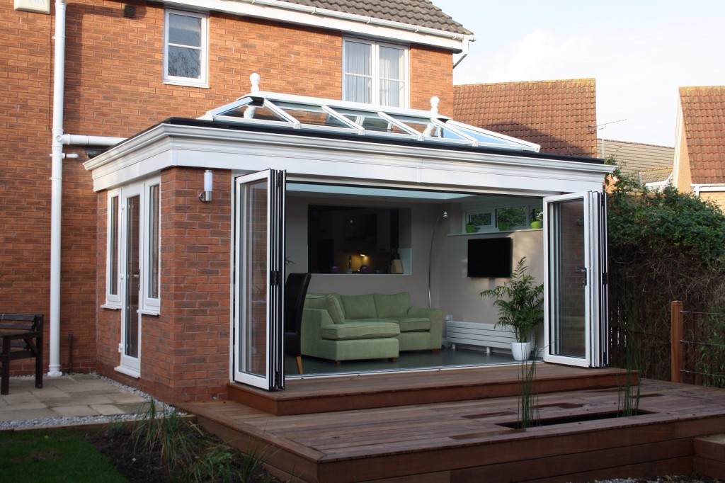 Orangeries bring k2 customer a healthy boost glass news for Orangery ideas uk