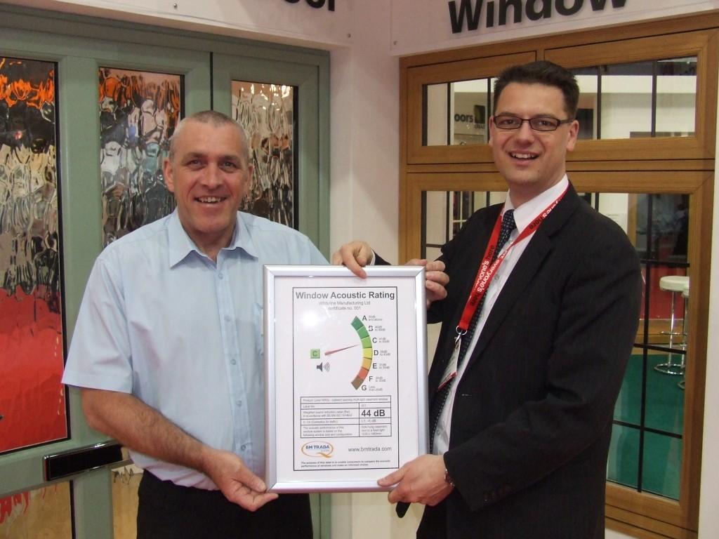 Steve Milham Receives Certificate 001