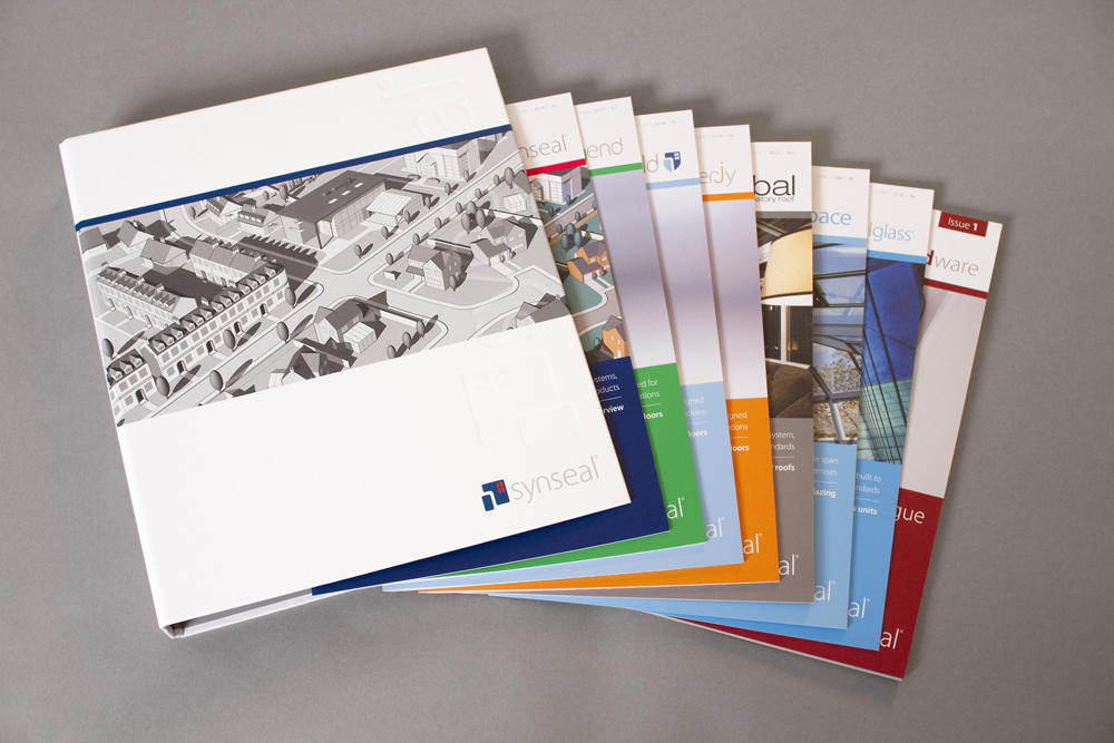 Synseal commercial folder and literature