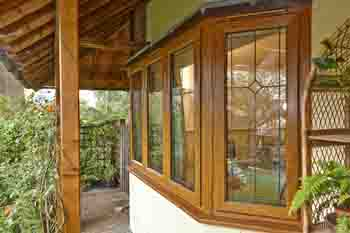 CPR1822 Direct Glazing used Iceni Windows frames foiled in Golden Oak for a high end domestic replacement 1