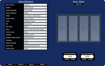 Glazerite Bi-Fold Door Portal