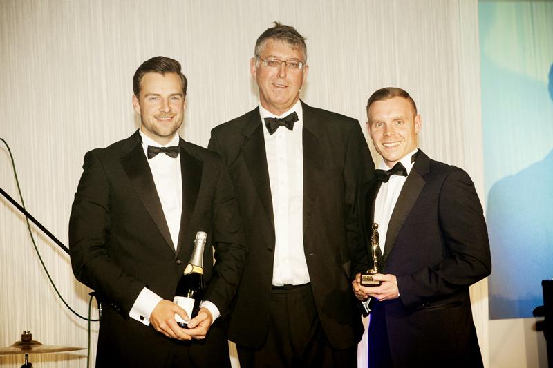 KJM Award Presentation - Dan Legg, John Ogilvie, Paul Ginger