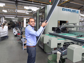 Everglade Windows investment in new machinery