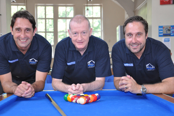 Steve Davis with the AWC Directors