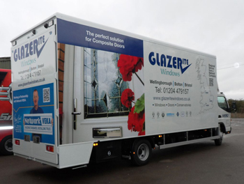 Glazerite New Van Livery