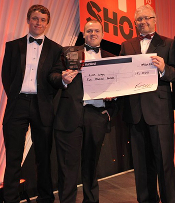 Arron Clegg took home the title and a cheque for £5,000 at last year's FIT Show Master Fitter Challenege.