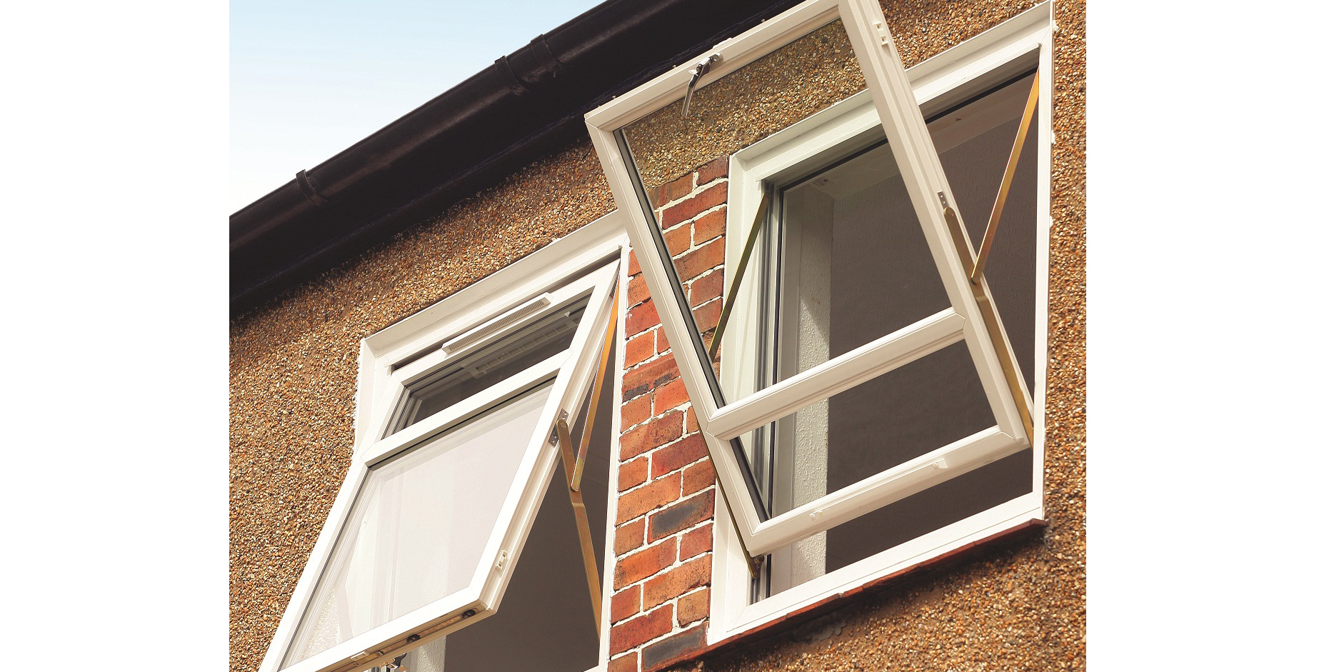 The quality of sheerframe s reversible window is reflected for Quality windows