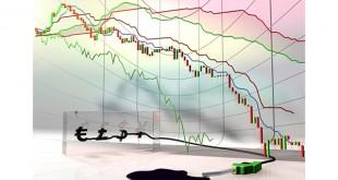 Conceptual oil chart dropdown.