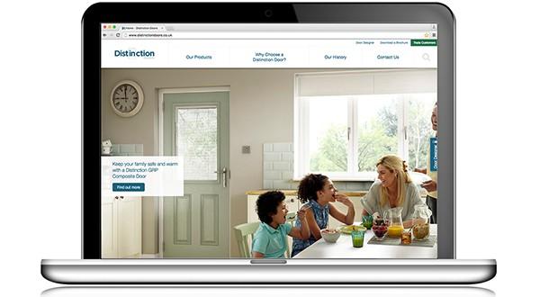 Distinction Doors Website-NEW copy  sc 1 st  Glass News & NEW DISTINCTION DOORS WEBSITE SETS THE STANDARD FOR DIGITAL ... pezcame.com