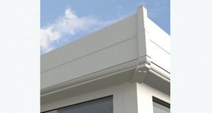 New 2 tier flat cornice from Ultraframe