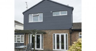 Fortex Double Shiplap Slate Grey