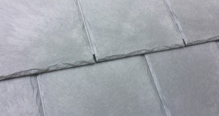 New Envirotile has a natural slate finish