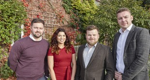 PR111 - Left to right - Rick Cole, Ruby Sidhu, Sam Tynan and Shaun Young...