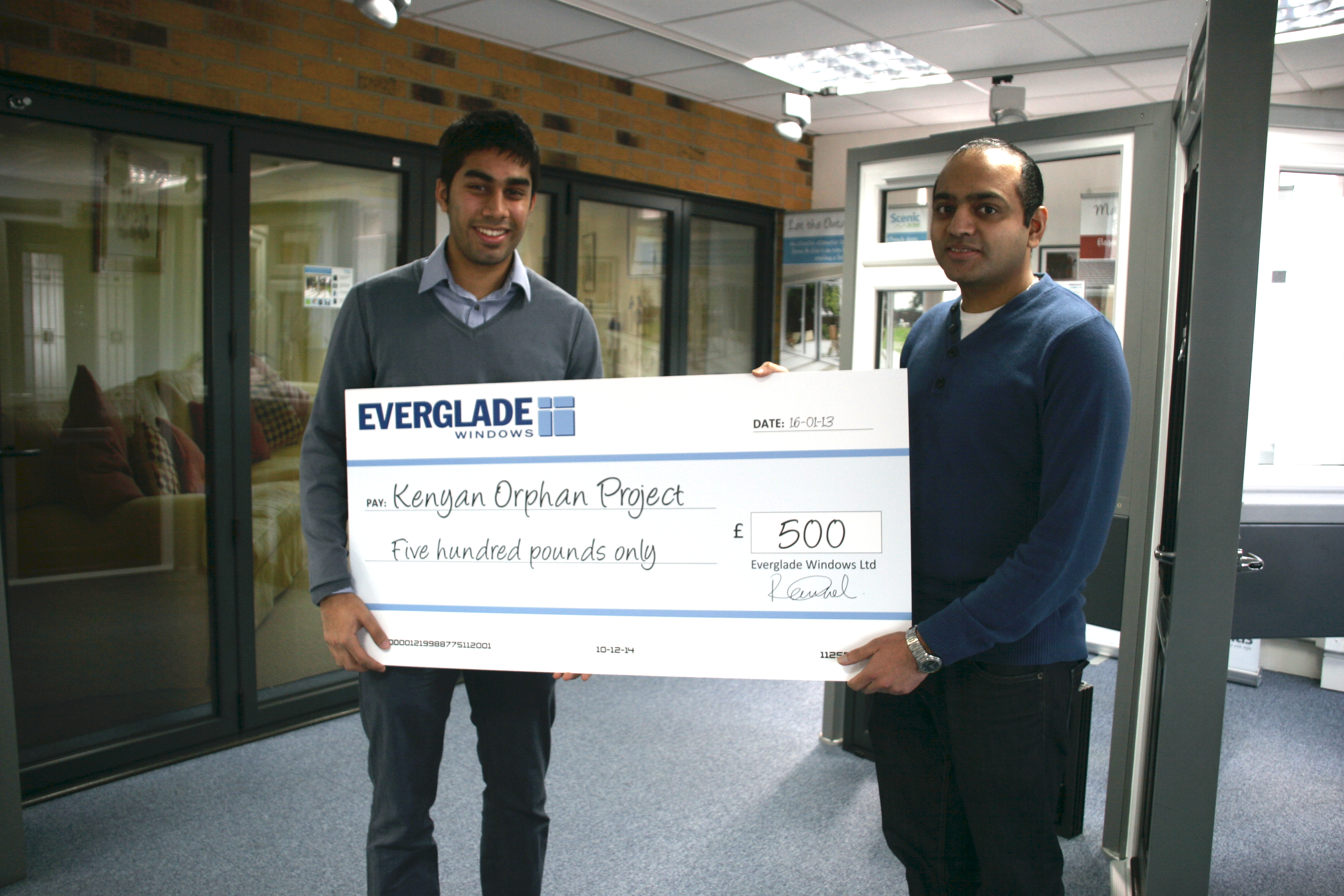 Everglade Windows supports the Kenyan Orphanage Project