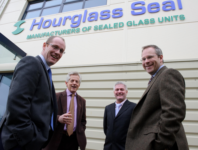 Richard Graham marks Hourglass anniversary