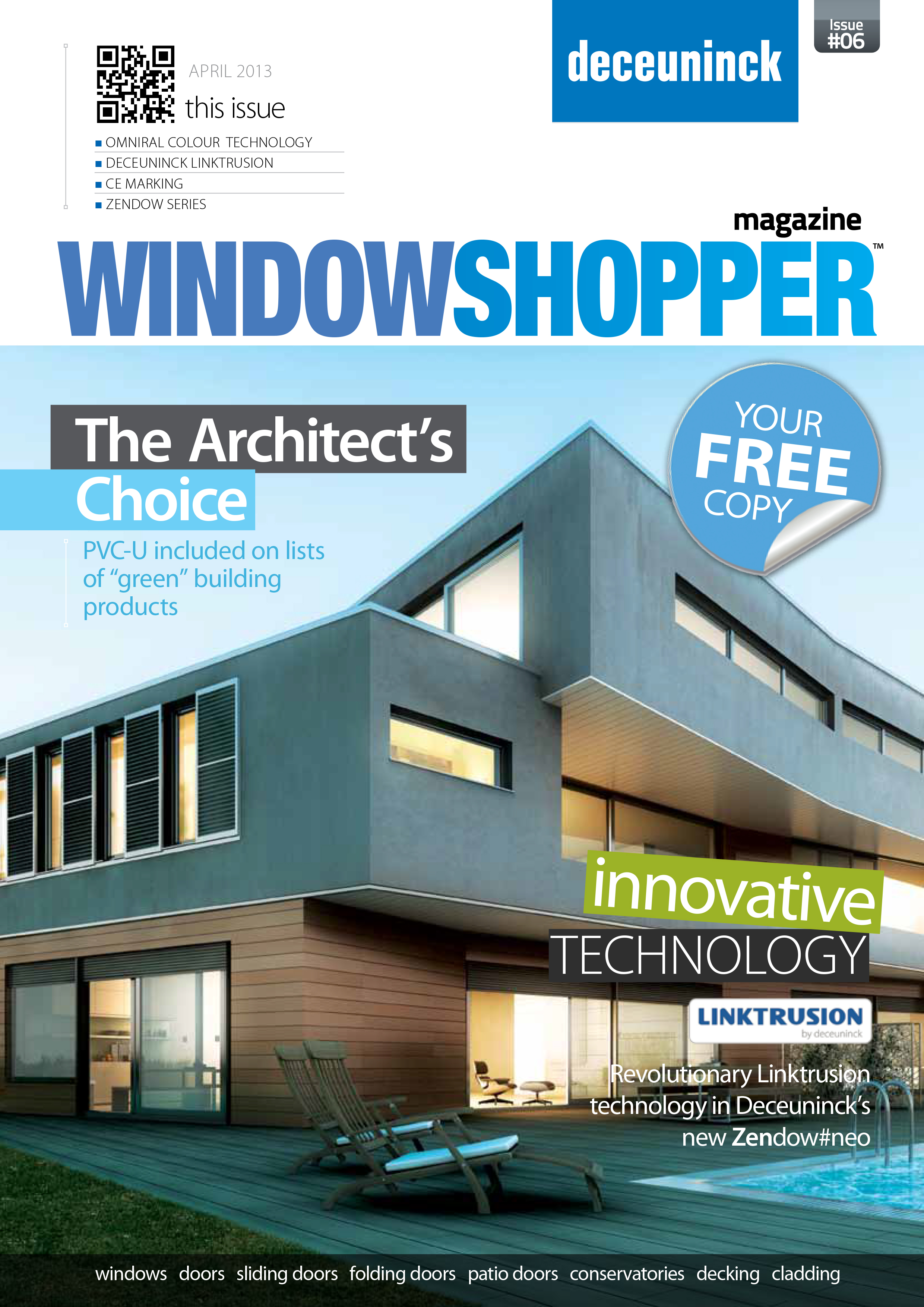 Latest edition of Deceuninck's WindowShopper out now!