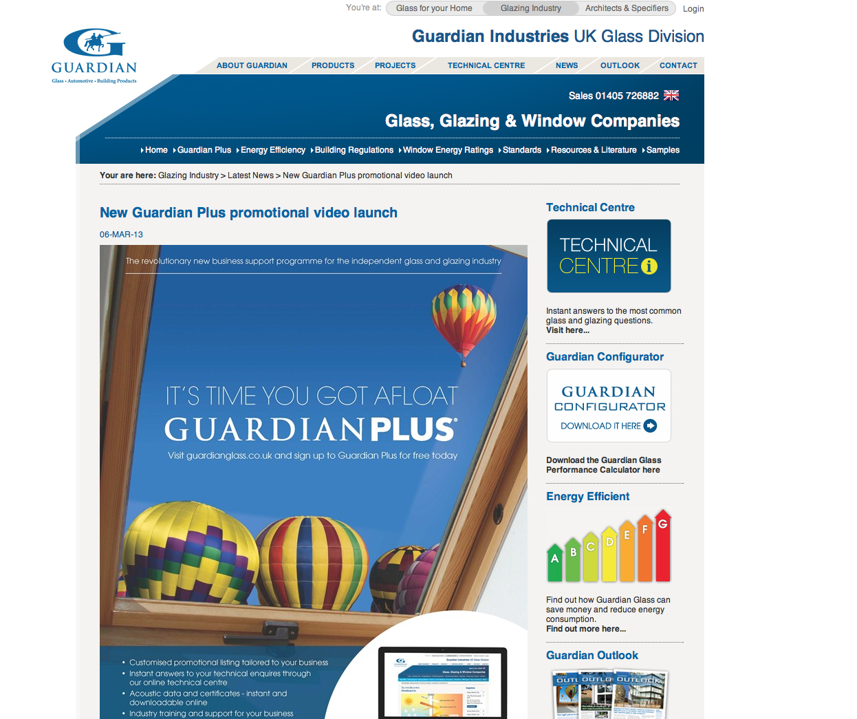New Guardian Plus promotional video launch