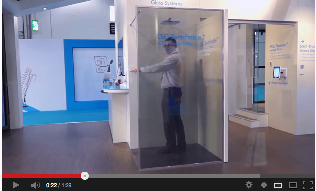 ESG Controllable Glass System Solutions Latest Video