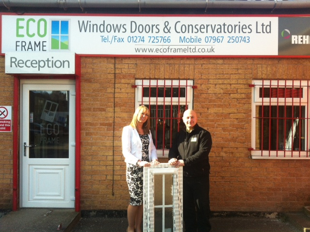 ECO FRAME WINDOWS FIRST WITH NEW REHAU TOTAL70 PROFILES
