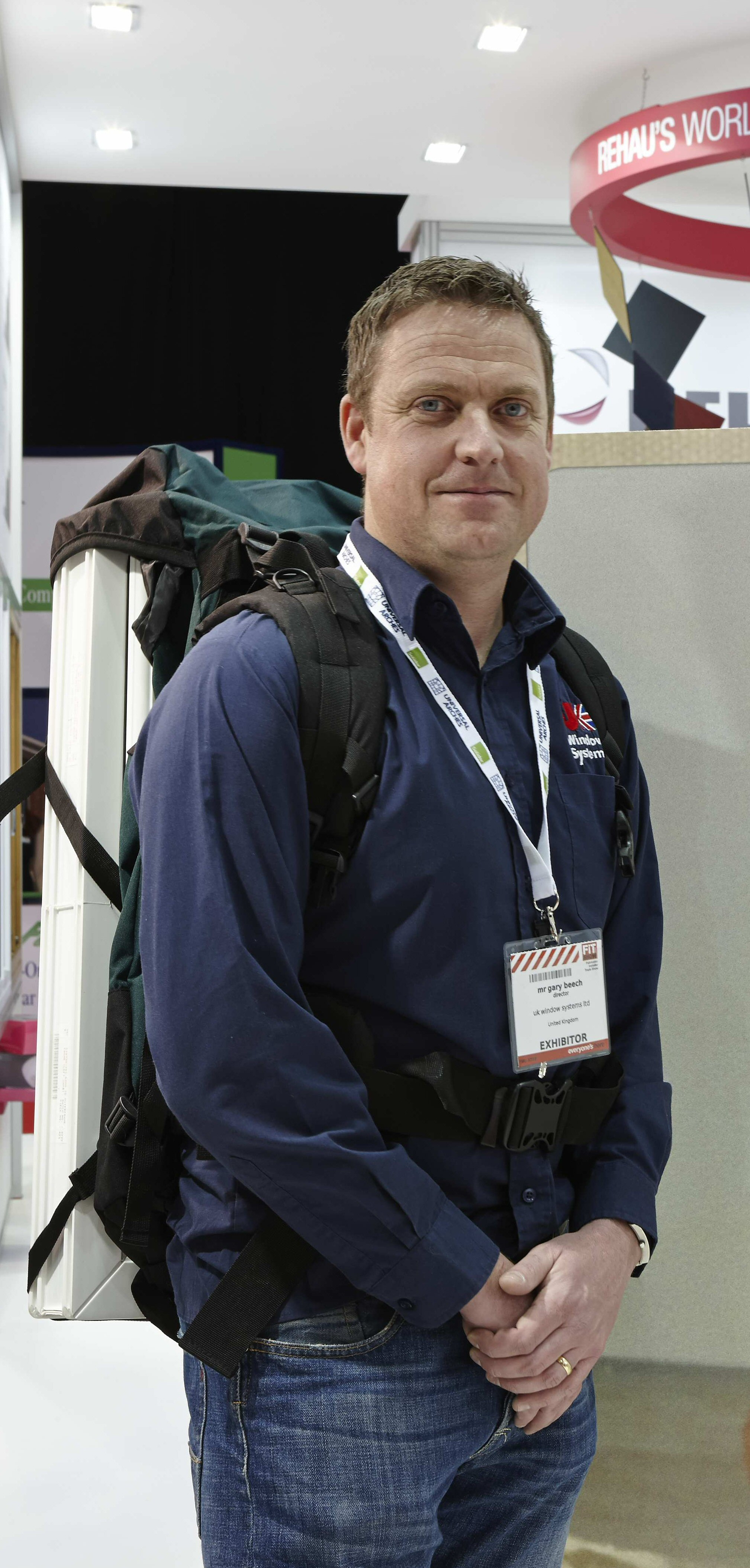 UK WINDOW SYSTEMS GET IN TRAINING FOR MOUNT KILIMANJARO AT FIT SHOW