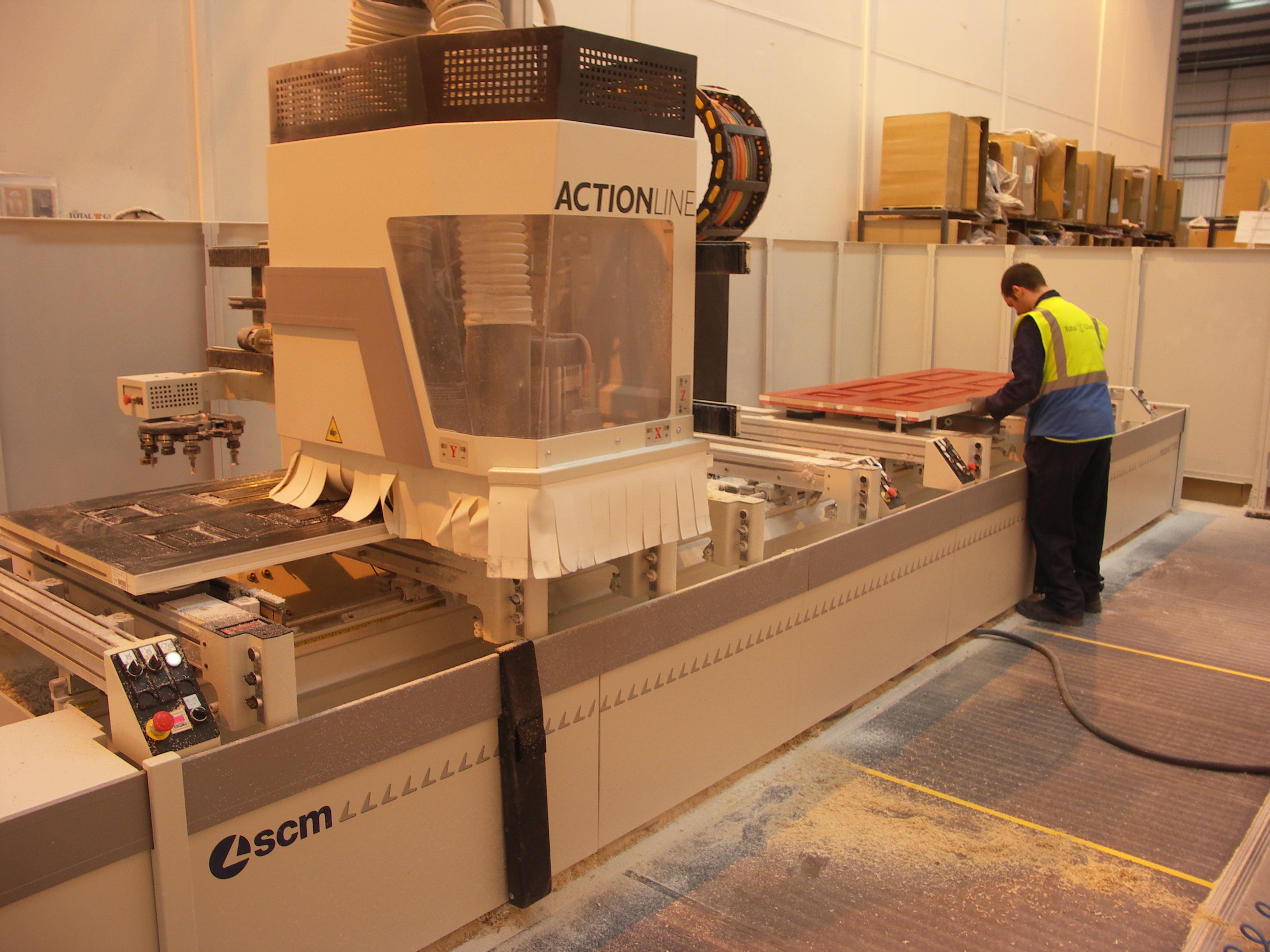 SCM CNC MACHINING CENTRE INCREASES COMPOSITE DOOR PRODUCTION AT TOTAL GLASS
