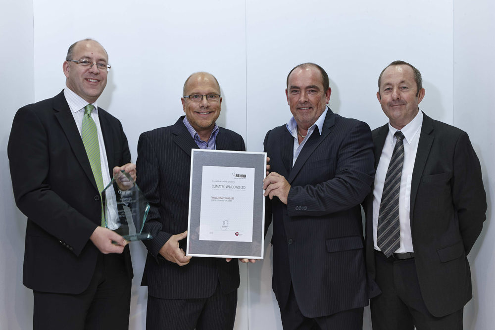 CLIMATEC AND REHAU MARK 20 YEAR PARTNERSHIP AT FIT SHOW
