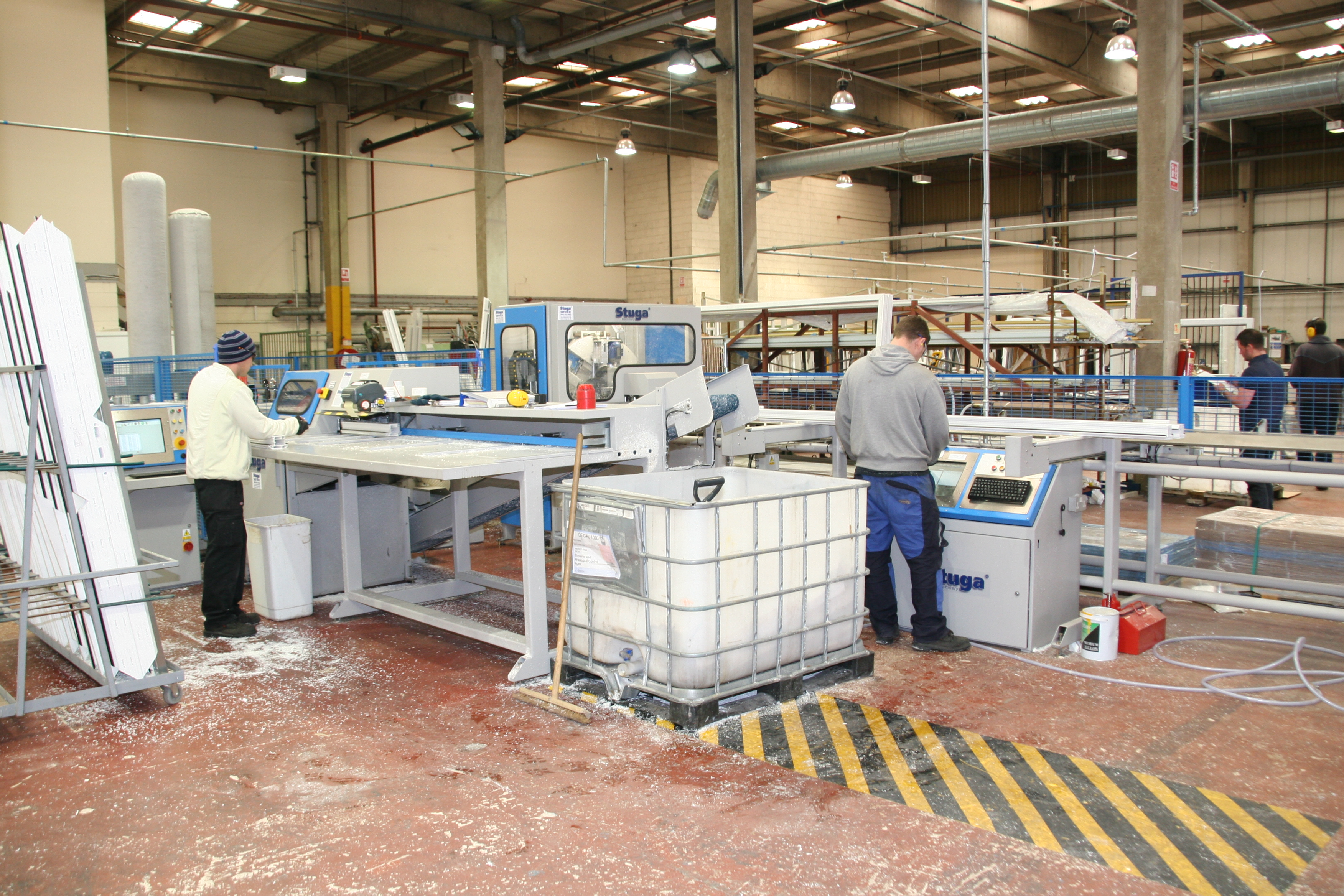 Direct Trade purchase fourth Stuga Sawing & Machining Centre