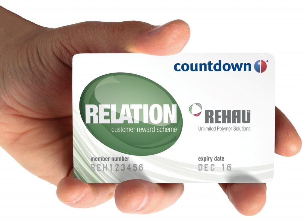 PR1790 REHAU RELATION customer reward scheme