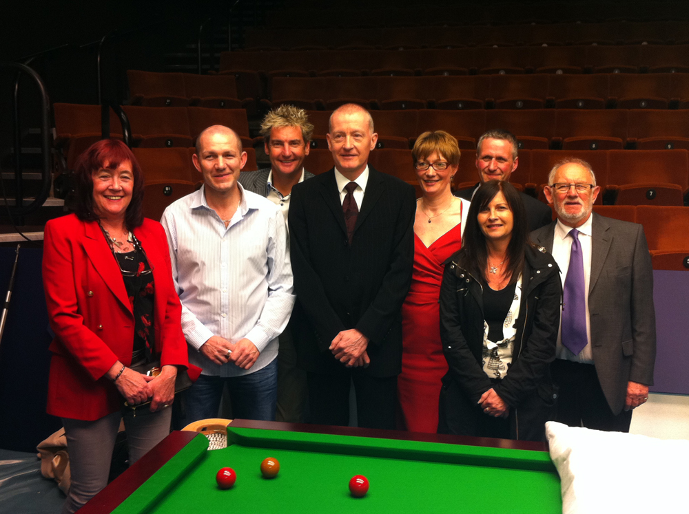 Backstage World Champs tour for members, from Network's Steve Davis