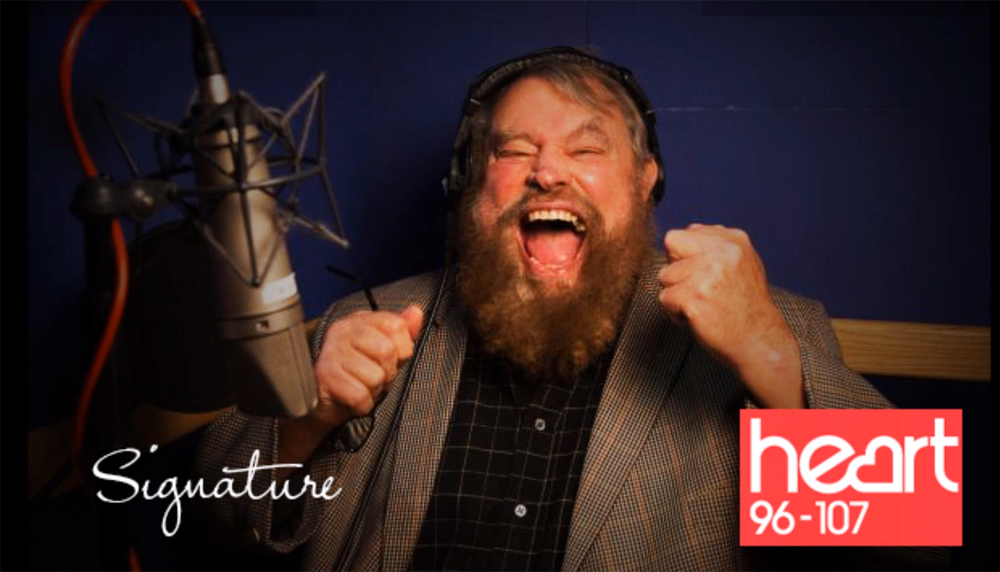 BRIAN BLESSED EXTOLS THE VIRTUES OF 'THE PORTALS OF MAJESTY' IN SIGNATURE WINDOWS HILARIOUS  HEART RADIO CAMPAIGN