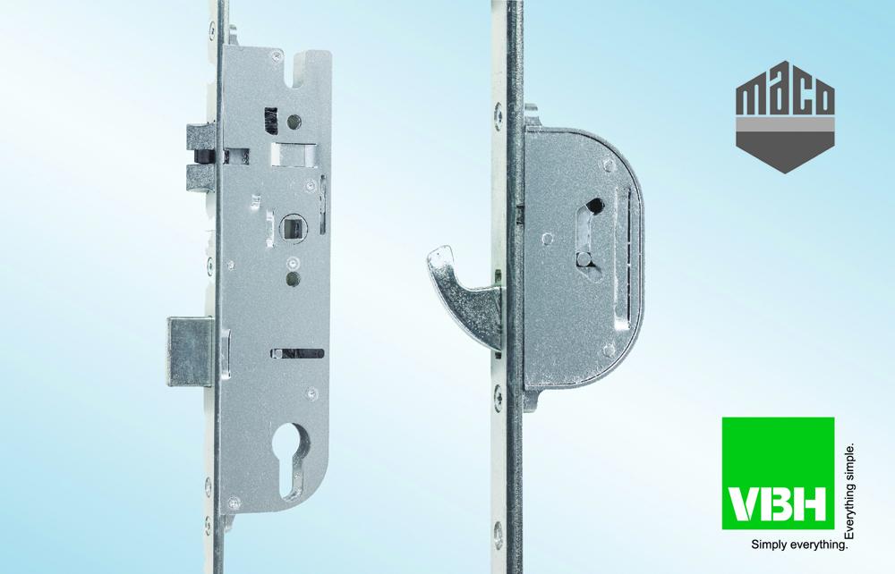 VBH Stocks New Maco C-TS Door Lock Range