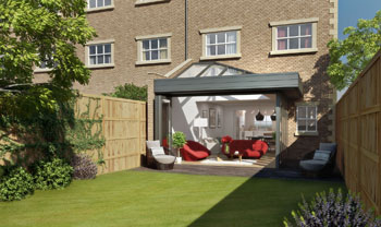 A CONTEMPORARY ORANGERY IDEAL FOR TOWNHOUSES? NOW THAT IS A REFRESHING IDEA, FROM SYNSEAL OF COURSE