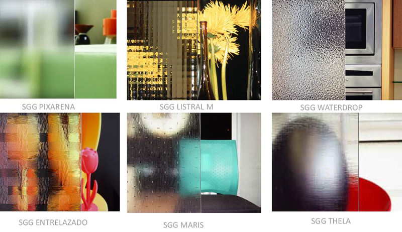 SGG DECORGLASS: EXCLUSIVE RANGE OF TRADITIONAL PATTERNED GLASSES