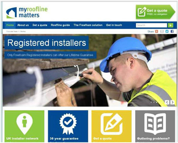 NEW LOOK FOR MYROOFLINEMATTERS.CO.UK