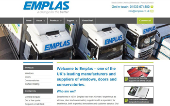 A change for the better: Emplas launches new website