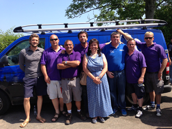 BBC's DIY SOS calls upon The Window Outlet for help!