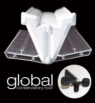 """belt & braces"" glass stop option for global roof"
