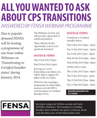 ALL YOU WANTED TO ASK ABOUT CPS TRANSTIONS – ANSWERED BY FENSA WEBINAR PROGRAMME