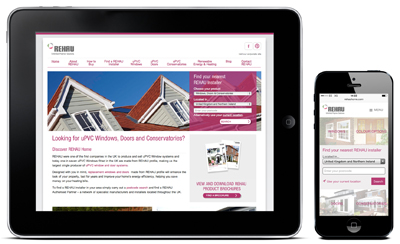 REHAU LAUNCHES MOBILE VERSION OF CONSUMER WEBSITE