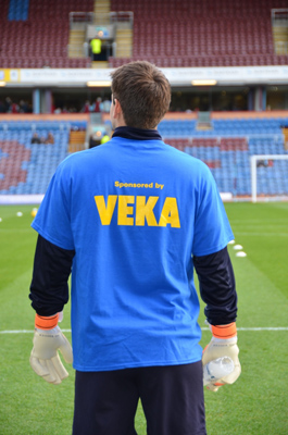 VEKA sees Burnley FC players become supporters
