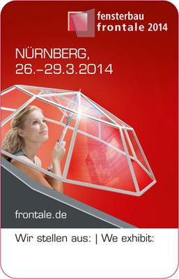 Glazpart announces showcase at Fensterbau Frontale 2014