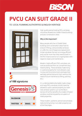 PVCu can suit Grade II!