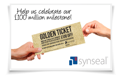 £100 MILLION SALES are JUST THE TICKET AT SYNSEAL