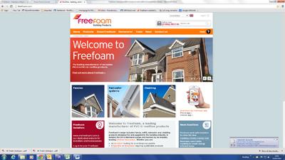 FREEFOAM ANNOUNCE 86% INCREASE IN WEB TRAFFIC