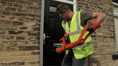 Distinction Door's composite door slab offers strength as standard