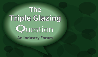 Speakers announced for the Triple Glazing Question
