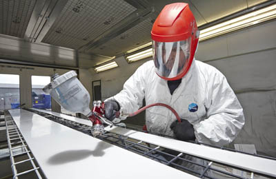 Foils drive growth for Emplas' specialist spray painting service