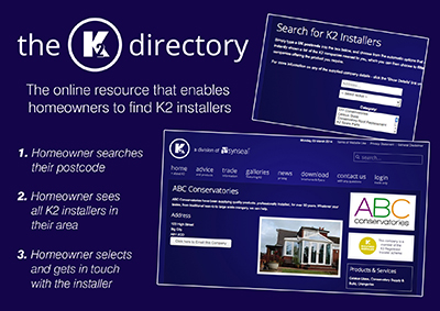 K2'S NEW DIRECTORY HELPS INSTALLERS ON THE WEB
